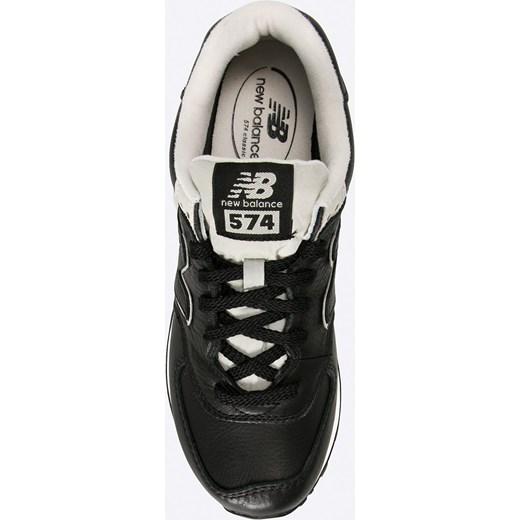 sneakersy new balance ml574luc czarny