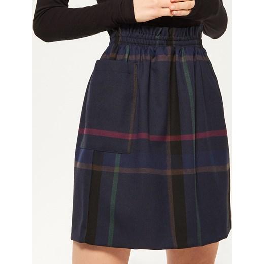 089c2476684905 Reserved - Sukienka w kratę Wielobarwny damska w Domodi