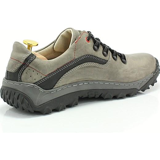 d5d9a628 ... KENT 268 SZARY - Polskie solidne buty trekkingowe ze skóry naturalnej  sklep-obuwniczy-kent ...