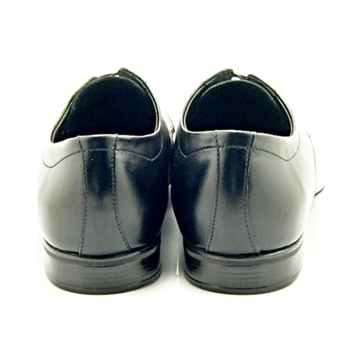 01f9f780a7889 ... 1043 CZARNY - Klasyczne męskie półbuty ze skóry, wizytowe  sklep-obuwniczy-kent szary ...