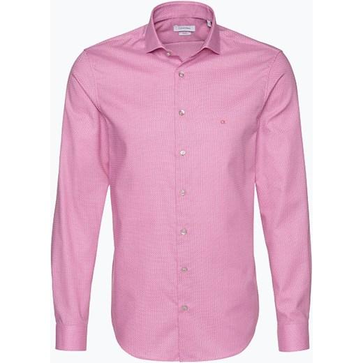 32e7b67e7 Calvin Klein - Koszula męska łatwa w prasowaniu, różowy Van Graaf 38,39,