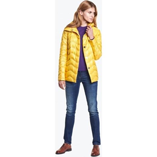 f9dc3394a9ef ... Żółta kurtka ciepła pikowana TOBI zolty L ame De Femme 44 wyprzedaż Eye  For Fashion ...