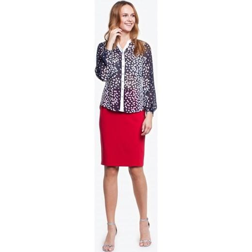 40e90fe2cb Bluzka z delikatnej tkaniny WITA 1 czerwony Potis verso 46 promocja Eye For  Fashion ...