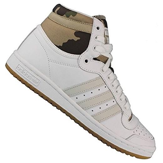 af8fcb28c308f Buty sportowe adidas dla kobiet, kolor: Chalk White/Hemp Camo, rozmiar: EUR  36 (UK 3,5) szary Amazon