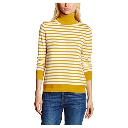 7cb93ad6a Sweter Tommy Hilfiger NEW HAVERA ROLL-NK SWTR dla kobiet, kolor: żółty,