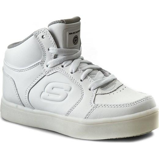 9cd002a1e1416d Sneakersy SKECHERS - Energy Lights 90600L/WHT White Skechers 32 eobuwie.pl