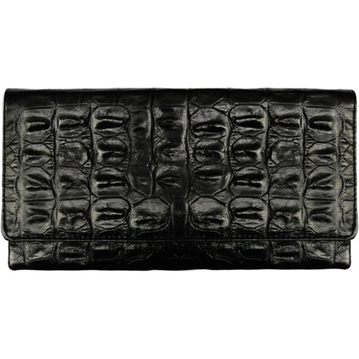 3600e55e1e876 Kopertówka Czarna Krokodyl Etui Bags Com W Domodi