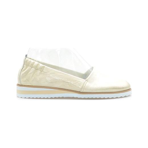 0ce76a821bbf4 Baleriny Gianmarko 042/19 Złote arturo-obuwie bezowy bez zapięcia w Domodi