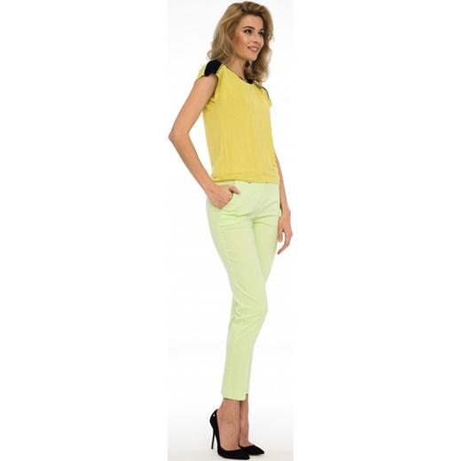75798f3488 ... Limonkowa bluzka PABLA zolty Potis verso 48 Eye For Fashion ...