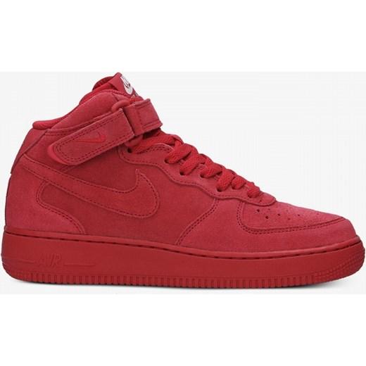 buty damskie nike air force 1 mid gs czerwone