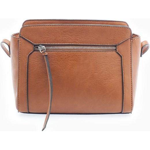 025aa3b27cd83 Mała torebka satchel Jasny wielbłądzi 103 Stradivarius bialy