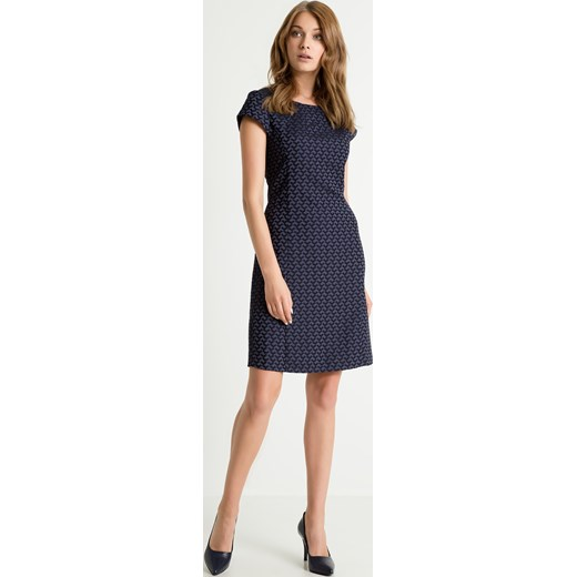 98c7b6b28d Sukienka z tkaniny żakardowej   Rozmiar - 40
