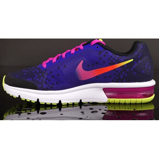 OBUWIE NIKE AIR MAX SEQUENT PRINT (GS) 820330 005 Natychmiastowo