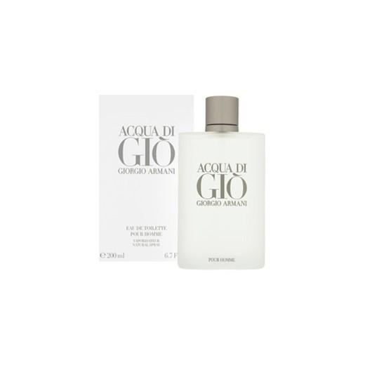 ... Giorgio Armani Acqua di Gio Pour Homme woda toaletowa dla mężczyzn 200  ml + cyfrowy zegarek 22a5b8eef43c
