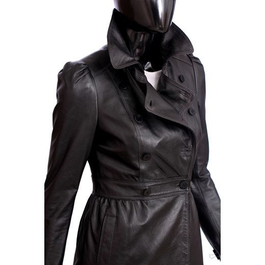 ff5b435163cc7 Płaszcz skórzany damski DORJAN ELZ450 DORJAN czarny damskie. Zobacz  Dorjan