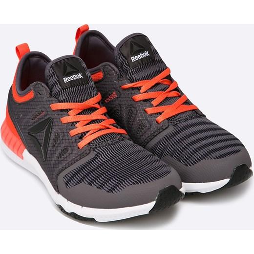 02330c3388d35 ... koturnie sznurowane; Czarne buty sportowe damskie Reebok do biegania na  koturnie ...
