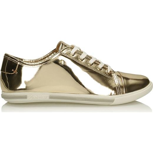 405fc811 Złote buty sportowe bezowy Kazar kazar.com w Domodi