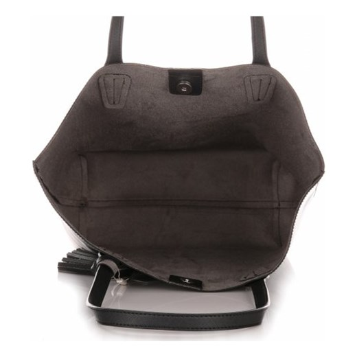446224d63dd1d ... Duża Torba Damska David Jones Typu Shopper Bag XXL z Kosmetyczką Czarna  czarny David Jones PaniTorbalska