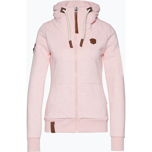 naketano Damska bluza rozpinana, różowy Van Graaf vangraaf