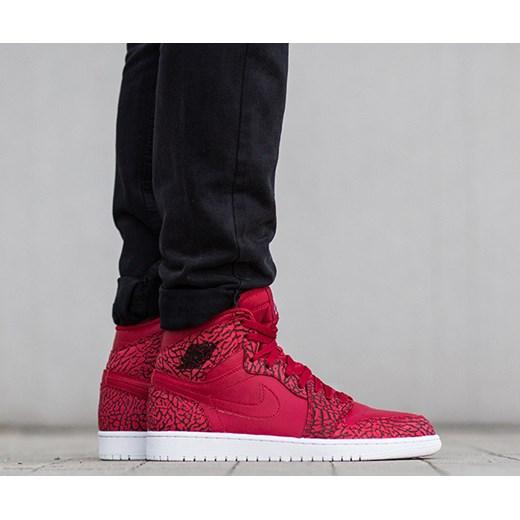 2385caf4 Buty męskie sneakersy Air Jordan 1 Retro High 839115 600 czarny Nike 44,5  wyprzedaż ...