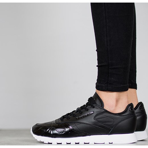 7537ec34452d2 Buty damskie sneakersy Reebok Classic Leather Hype Metallic BD4887 Reebok  czarny 36 sneakerstudio.pl ...