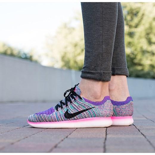 free shipping b47d7 18430 Buty damskie sneakersy Nike Free Run Flyknit 831070 604 Nike szary 38  okazja sneakerstudio.pl ...