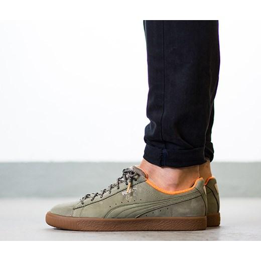 """Buty męskie sneakersy Puma Clyde Winter """"Burnt Olive"""" 363427 01 sneakerstudio.pl"""