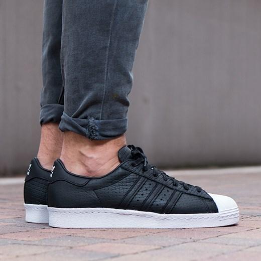 Buty męskie sneakersy adidas Originals Superstar 80s Woven S75007 sneakerstudio.pl