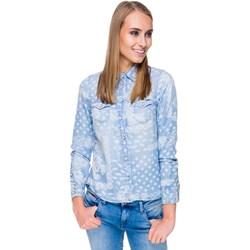 7f813360fcd868 Niebieskie koszule damskie pepe jeans, lato 2019 w Domodi