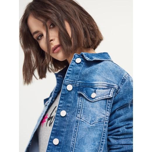 beefc8b9 Mohito - Damska jeansowa katana little princess Niebieski