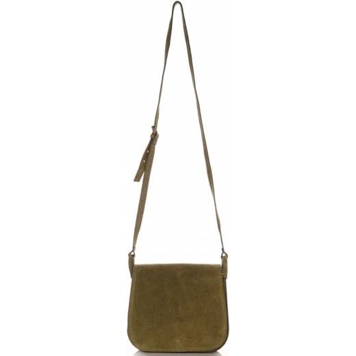 ba9b09fc9b903 ... Torebki Listonoszki Skórzane Firmy Genuine Leather Zielona (kolory) Genuine  Leather PaniTorbalska ...