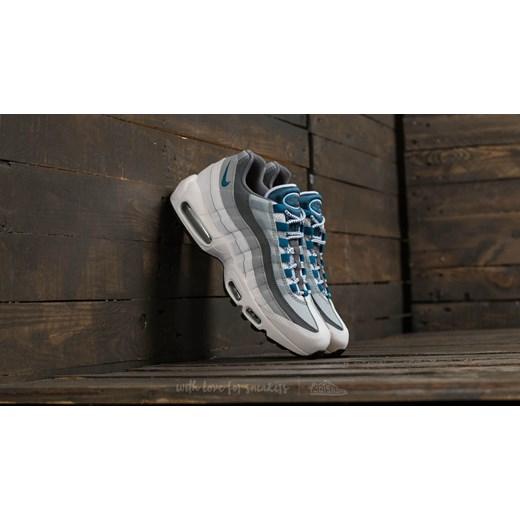 Nike Air Max 95 Essential White  Industrial Blue szary Footshop w Domodi 05d40002f5c2