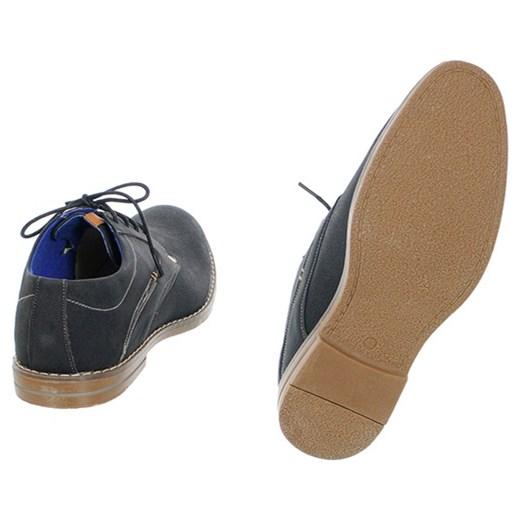 c6f9597ee8cce ... Półbuty męskie czarne brazowy Family Shoes 42 ...