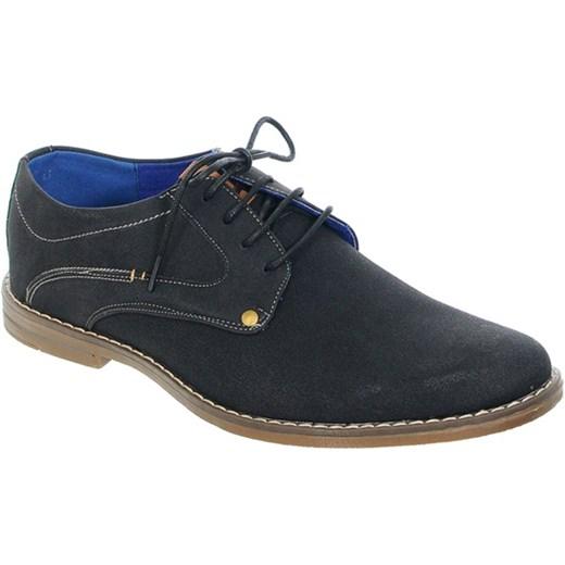 9c0d59ce0a43e Półbuty męskie czarne brazowy Family Shoes w Domodi
