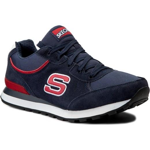 Sneakersy SKECHERS Og 82 52300NVRD NavyRed czarny eobuwie.pl