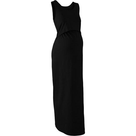 7c7f2523 Długa sukienka ciążowa i do karmienia BPC Collection bonprix