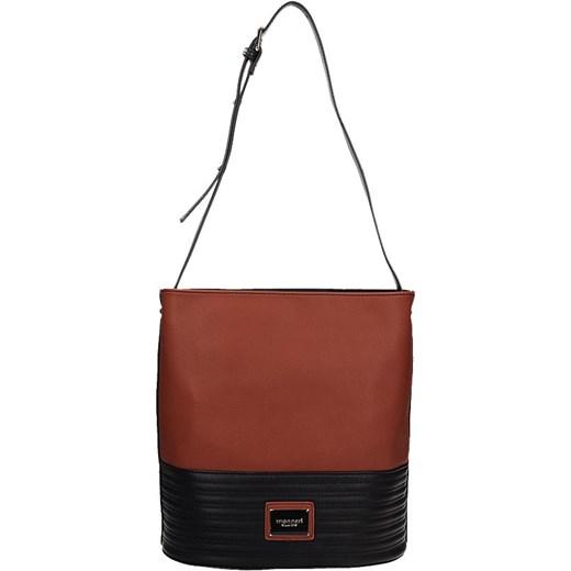 944be257fbf85 duża torba Monnari z paskiem na ramię bialy Tanie Torebki w Domodi