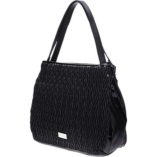 9243e18d4e24c Duże torby Pretty Girl z marszczeniami bialy Tanie Torebki w Domodi