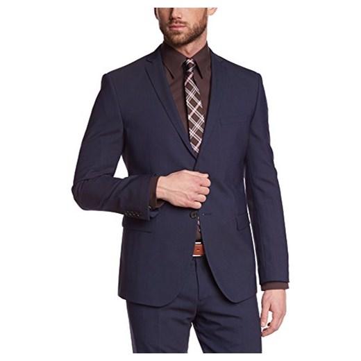 896e91eb594ef S. Oliver Black Label męska kurtka garnitur 02.899.54.2354, jednokolorowy -  szary S