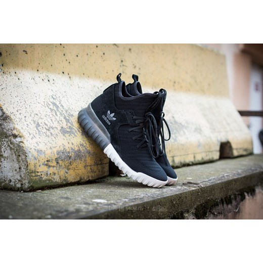 sports shoes 953cd 9682e adidas Tubular X Primeknit Core Black Dark Grey Vintage White Adidas  Originals bezowy 46.7