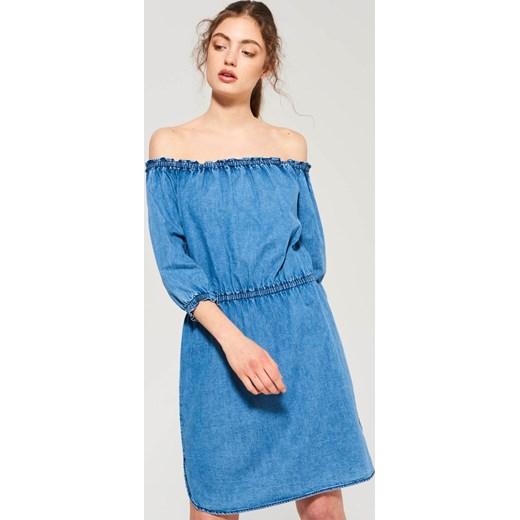5acda48e50 Sinsay - Jeansowa sukienka - Niebieski Sinsay niebieski L ...