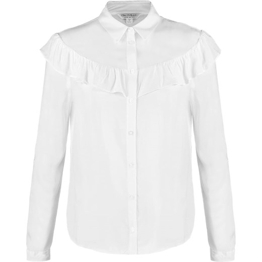 Miss Selfridge Koszula white bialy Zalando
