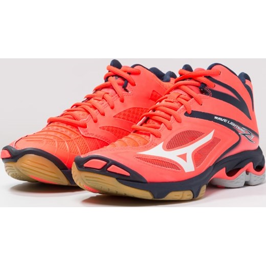 Mizuno WAVE LIGHTNING Z3 Obuwie do siatkówki fiery coral white dress blues  Zalando w Domodi ba3d9ba4f5c