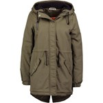 Noisy May NMTHULE Parka ivy green/orange