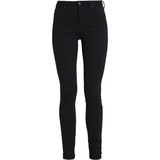 Lee SCARLETT HIGH  Jeans Skinny Fit black rinse czarny Zalando