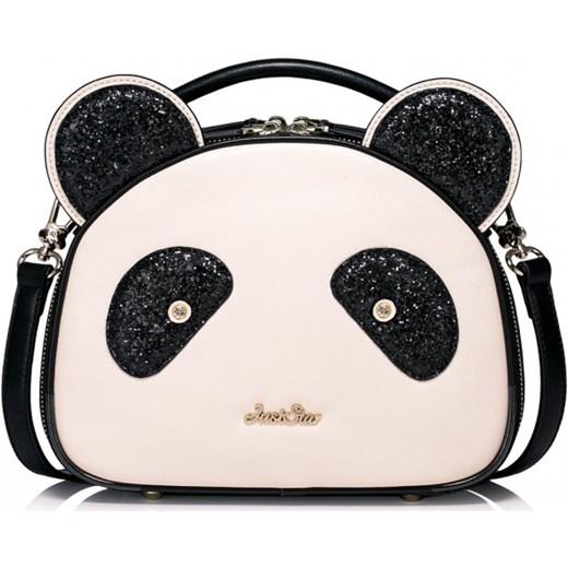 a81312968b6a5 ... Dziewczęca torebka na ramię w kształcie pandy Ecru Just Star bezowy  Savani ...