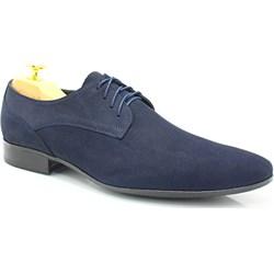 722cba5d33fa1 LAVAGGIO 479 GRANAT - Zgrabne buty męskie wizytowe szary Lavaggio  Tymoteo.pl - sklep obuwniczy