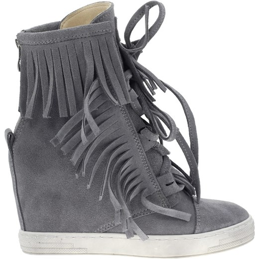 1207f7644ca72 Sneakers szare ciemne frędzle Booci szary w Domodi