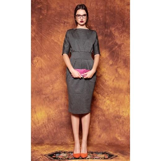 6792d20efd fioletowa sukienka opus x czerwony Kasia Miciak Design FashionBay w ...