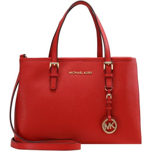 32817356b25cb3 MICHAEL Michael Kors JET SET TRAVEL Torebka bright red Michael Michael Kors  czerwony One Size Zalando ...